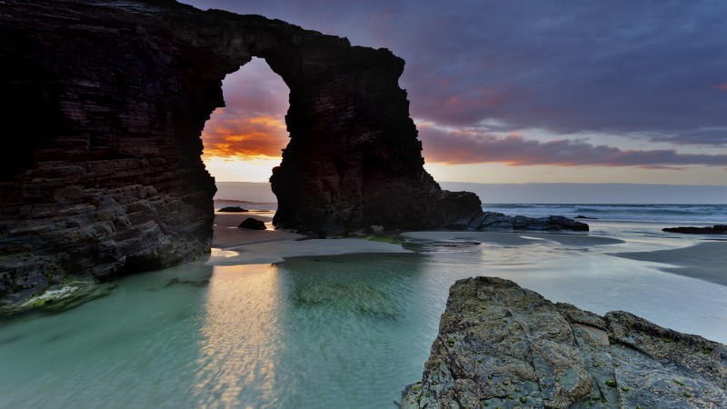 Playa de las Catedrales, Ribadeo, Best beaches of 2017, tourism, travel, resort, beach, vacation, sea, ocean, water (horizontal)