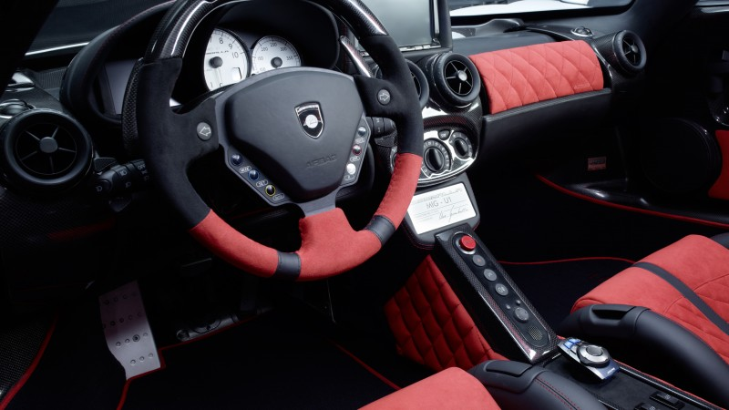 Enzo Ferrari, supercar, luxury cars, sports car, test drive, review, interior, red, buy, rent (horizontal)