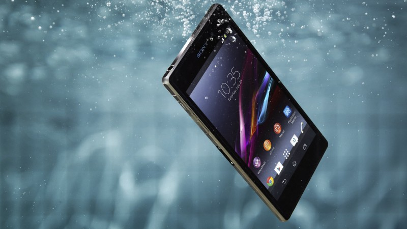 Xperia Z1, Sony, smartphone, Samsung, review, underwater, camera, photo, water, resist (horizontal)