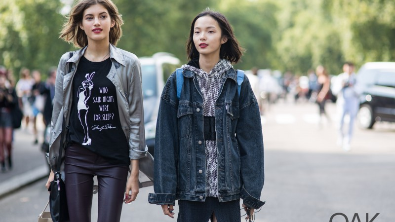 Valery Kaufman, Xiao Wen Ju, Top Fashion Models 2015, model, smile, street (horizontal)