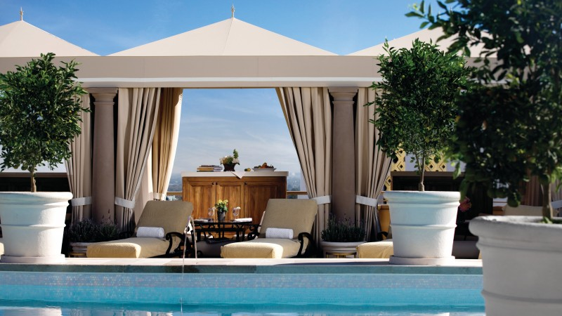 Montage Beverly Hills, Los Angeles, USA, Best Hotels of 2015, tourism, travel, resort, vacation, pool (horizontal)