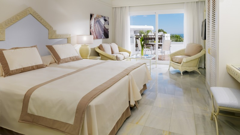 Iberostar Marbella Coral Beach, Best Hotels of 2015, tourism, travel, resort, vacation, bed, room, white (horizontal)