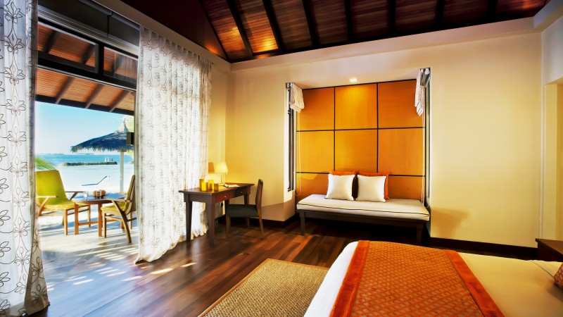 Kurumba Maldives, Best Hotels of 2015, tourism, travel, resort, vacation, orange, room (horizontal)