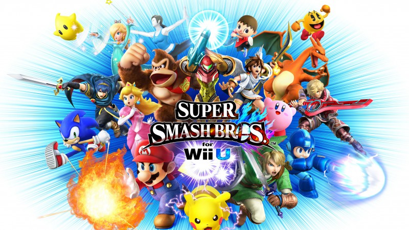 Super Smash Bros, Nintendo, 3DS, Wii U, Brawl, 3D, gameplay, review, screenshot (horizontal)