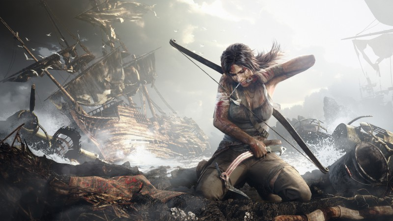 Rise of the Tomb Raider, 5k, 4k wallpaper, Tomb Rider, Best Games 2015, gameplay, review, screenshot, ship (horizontal)