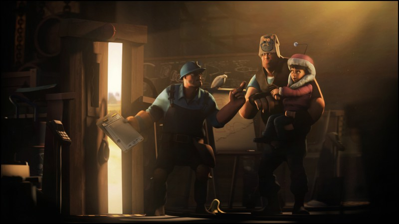 Team Fortress 2, TF2, FPS, mod, Monster Corporation, Monster Co, modification, screnshot, 4k, 6k, 8k, Ultra HD, HD, characters, review (horizontal)