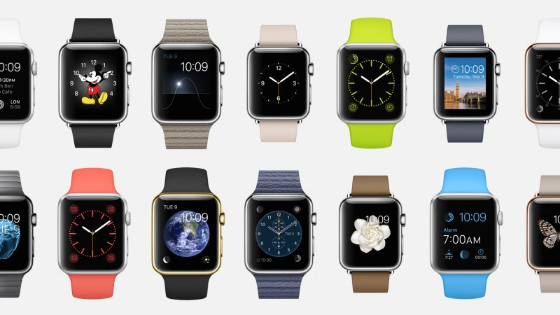 Apple Watch, watches, wallpaper, 5k, 4k, review, iWatch, Apple, interface, display, silver, Real Futuristic Gadgets (horizontal)