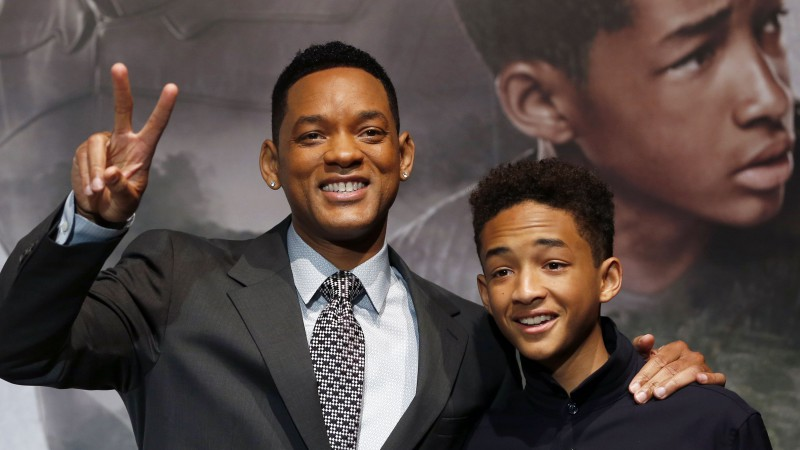 Will Smith, Jaden Smith, Most Popular Celebs in 2015, actor, producer, rapper, After Earth, Focus, Suicide Squad 2016, son, father (horizontal)