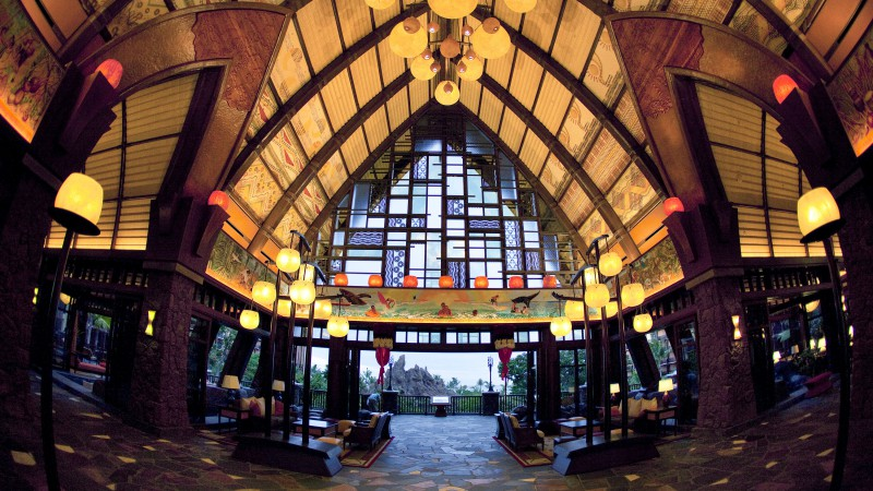Disney Resort & Spa, Aulani, Best Hotels of 2015, tourism, travel, resort, vacation, lobby, booking (horizontal)