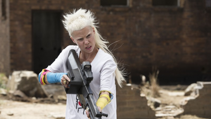 Chappie, Best Movies of 2015, Die Antwoord, gun (horizontal)