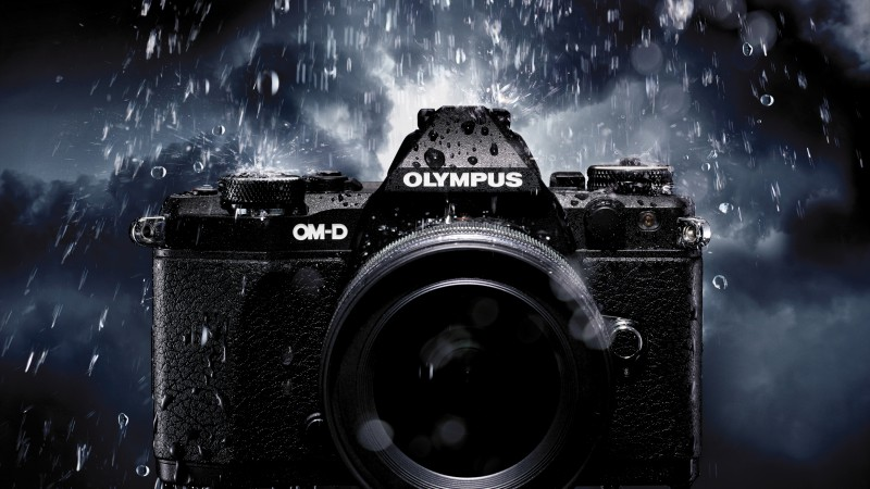 Olympus OM-D E-M5 MkII, Hi-Tech News of 2015, photo camera, black, review, Best Cameras 2015 (horizontal)