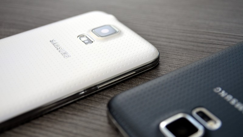 Samsung GALAXY S5, Samsung Galaxy Models, smartphone review, back camera (horizontal)