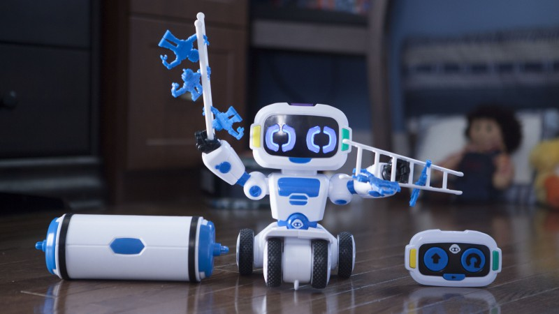 WowWee Tipster, robot for kids, robotic toy, review, test, robotic industry for kids (horizontal)