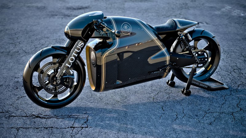 Lotus C-01, concept, motorcycle, Kodewa, superbike, cruiser, test drive, speed (horizontal)