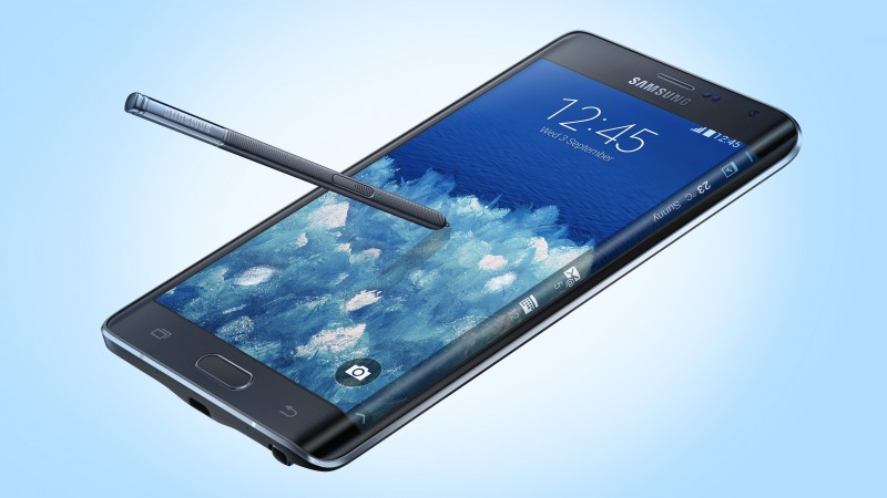 Samsung Galaxy Note Edge, smartphone, phablet, review, sidebar (horizontal)
