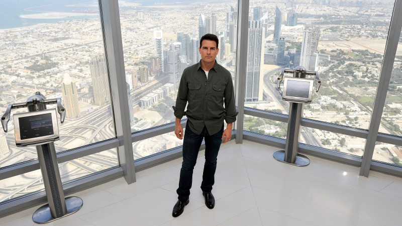 Tom Cruise, Burj Khalifa, Most Popular Celebs in 2015, actor (horizontal)