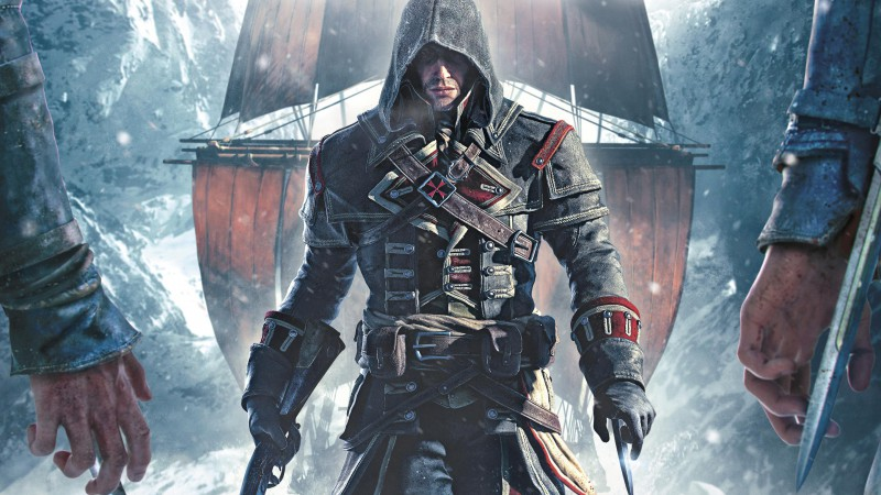 Assassin's Creed Rogue, game, stealth action game, Shay Patrick Cormac, ship (horizontal)