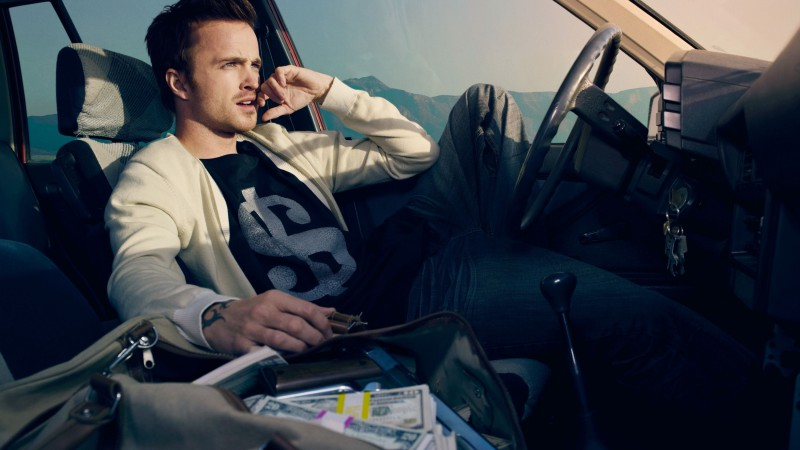Aaron Paul, Breaking Bad, Most Popular Celebs in 2015, Best TV Series of 2015, actor, crime (horizontal)