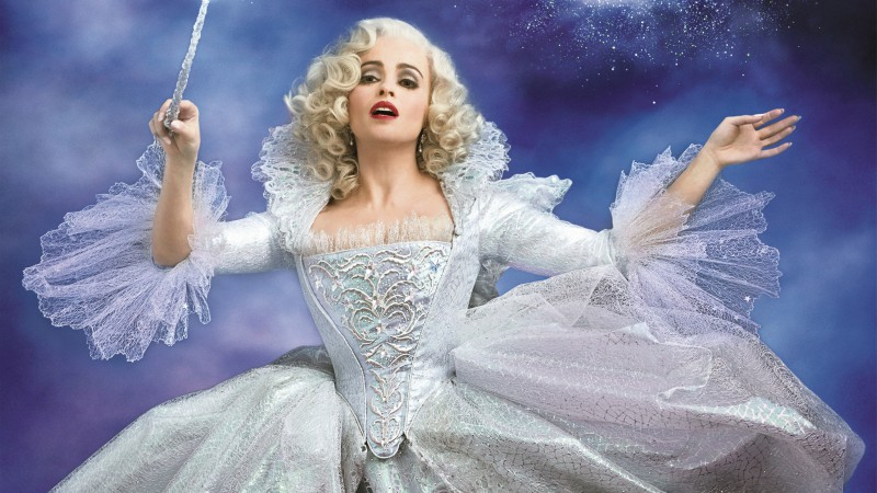 Helena Bonham Carter, Cinderella, Most Popular Celebs in 2015, Best Movies of 2015, actress, fairy godmother (horizontal)