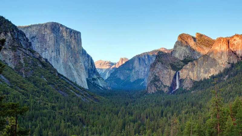 Yosemite, 5k, 4k wallpaper, forest, OSX, apple, mountains (horizontal)