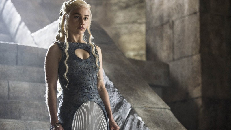 Game of Thrones, Best TV Series of 2015, Emilia Clarke, Daenerys Targaryen, season 5 (horizontal)