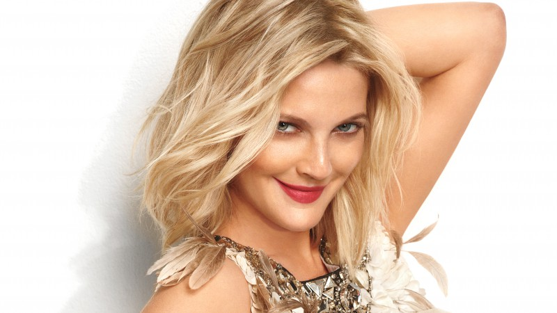 Drew Barrymore, Most Popular Celebs in 2015, actress, model, blonde,  (horizontal)