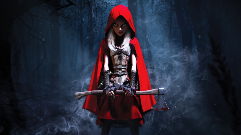 Woolfe: The Red Hood Diaries, Best Games 2015, Best Adventure Games 2015, Arcade, Steampunk, Fairy tale,  (horizontal)