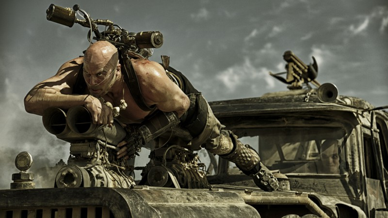 Mad Max: Fury Road, best movies of 2015, Charlize Theron, stills (horizontal)