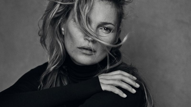 Kate Moss, Most Popular Celebs in 2015, Actress, Model, blonde, dress (horizontal)