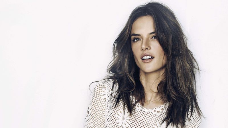 Alessandra Ambrosio, Top Fashion Models 2015, model, Victoria's Secret Angel, brunette (horizontal)