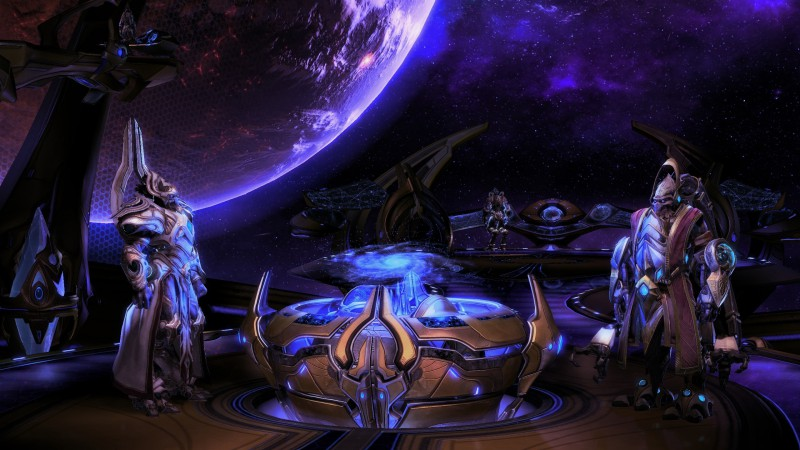 StarCraft 2: Legacy of the Void, Best Game, sci-fi, PC, art (horizontal)