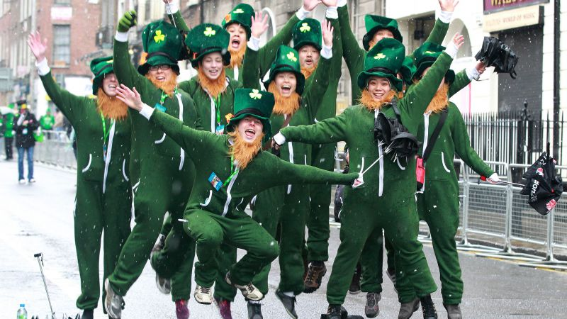 Saint Patrick's Day, Ireland, festival, green (horizontal)