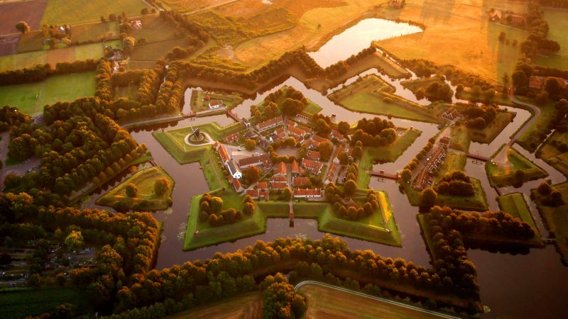 Bourtange, Nederland, Tourism, Travel (horizontal)