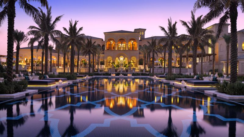 One&Only The Palm, Dubai, Best hotels, tourism, travel, resort, booking, vacation, pool (horizontal)