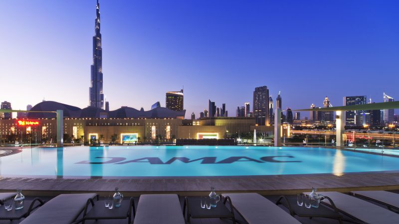 DAMAC Maison Hotel, Dubai, Best hotels, tourism, travel, resort, booking, vacation, pool (horizontal)