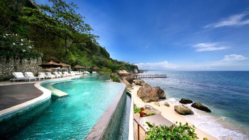 AYANA Resort and Spa, Bali, Jimbaran, Best hotels, tourism, travel, resort, booking, vacation, pool (horizontal)