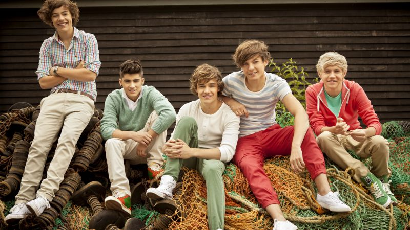 One Direction, Top music artist and bands, Liam Payne, Niall Horan, Louis Tomlinson, Harry Styles, Zayn Malik (horizontal)