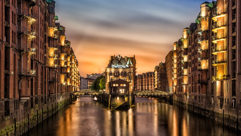 Hamburg, Germany, Travel, Tourism (horizontal)