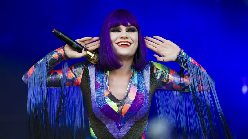 Jessie J, Top music artist and bands, singer,  (horizontal)