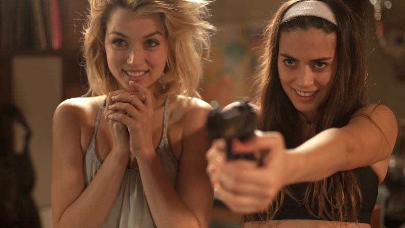 Knock Knock, best movies of 2015, Lorenza Izzo, Ana de Armas (horizontal)