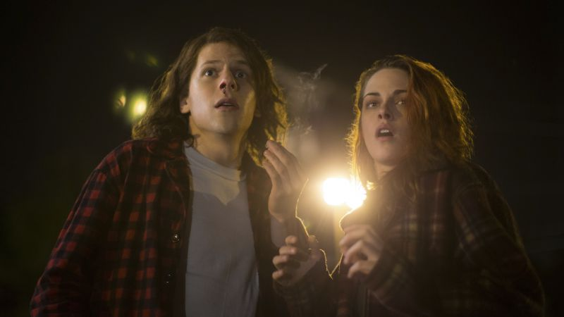 American Ultra, best movies of 2015, Jesse Eisenberg, Kristen Stewart (horizontal)