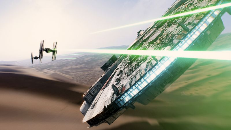 Star Wars: Episode VII - The Force Awakens, best movies of 2015, jedi (horizontal)