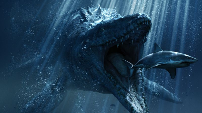 Jurassic World, Dinosaurs, Best Movies of 2015, movie, shark, dinosaur (horizontal)