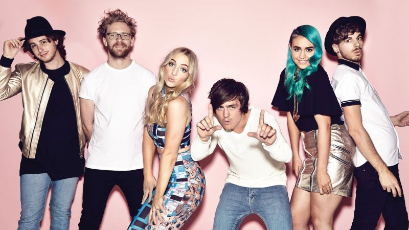Sheppard, Top music artist and bands (horizontal)