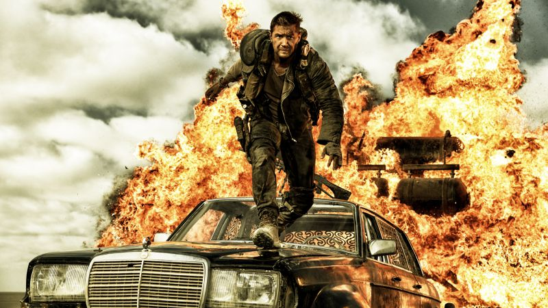 Mad Max: Fury Road, best movies of 2015, Nicholas Hoult, stills (horizontal)