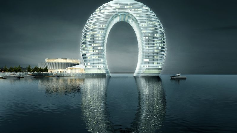 Sheraton Huzhou Hot Spring Resort, China, Best hotels, tourism, travel, resort, booking, vacation (horizontal)