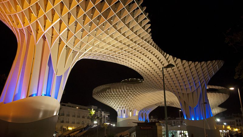 metropol parasol, sevilla, Spain, Best hotels, tourism, travel, resort, booking, vacation (horizontal)