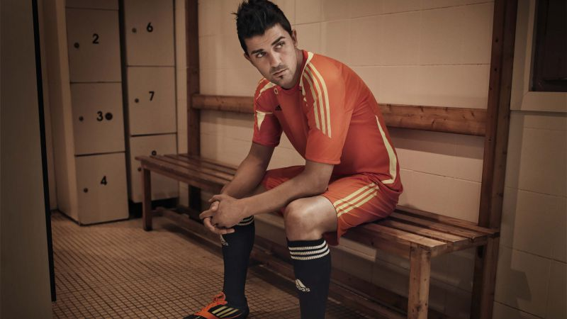 Football, David Villa, The best football players, New York City (horizontal)