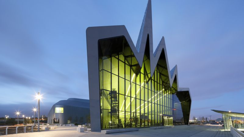 Riverside Museum, Scotland, Tourism, Travel (horizontal)