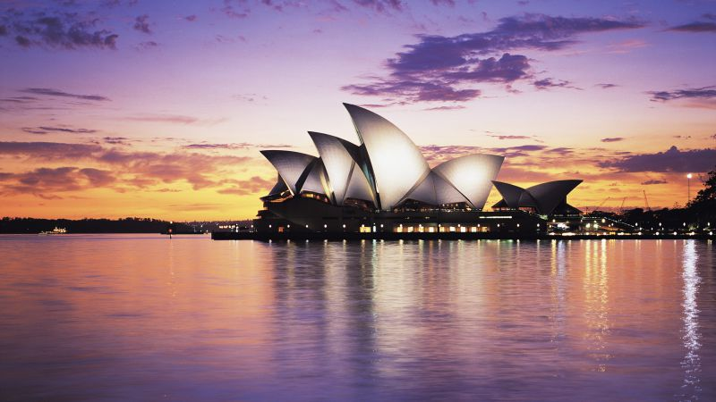 Opera house, sydney, australia, tourism, travel (horizontal)